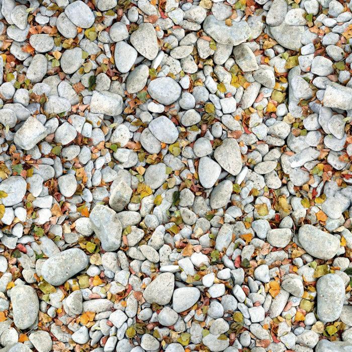 Kieselsteine Vinylboden