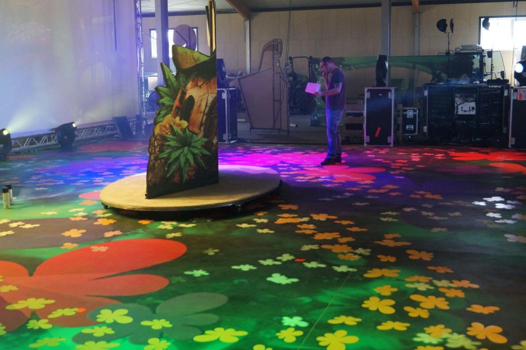 Bühnenboden Tanzboden Fotoboden