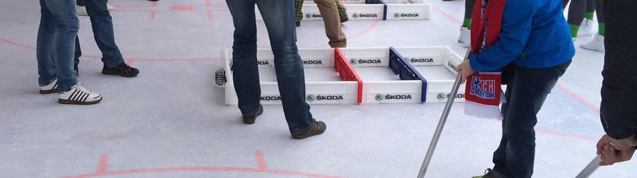 Minsk Eishockey Vinylboden