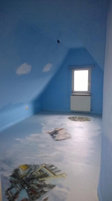Wolkenzimmer Mit Fotoboden