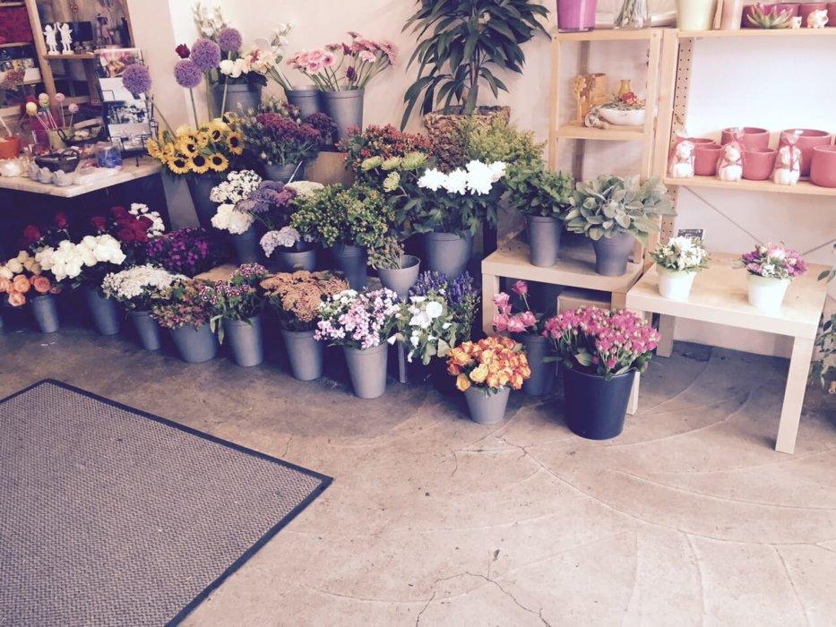 Unterlagen Blumenladen Blumendeko