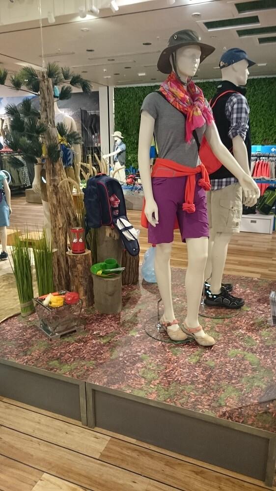 Ladengestaltung – Outdoor
