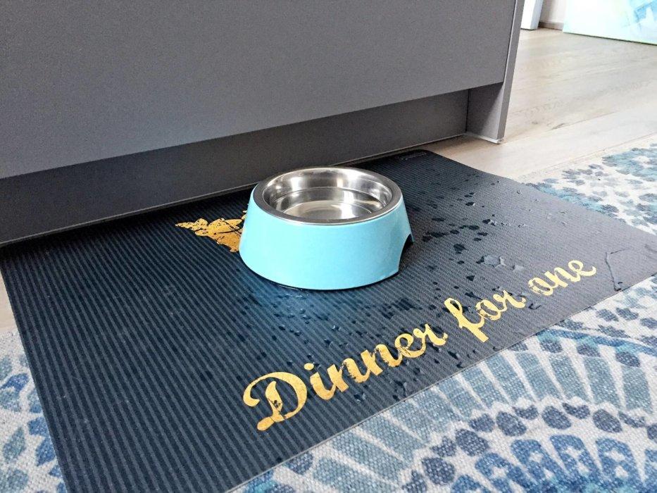 Hundenapfunterlage PVC bedruckt
