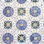 Vinylboden Fliesen Blumen