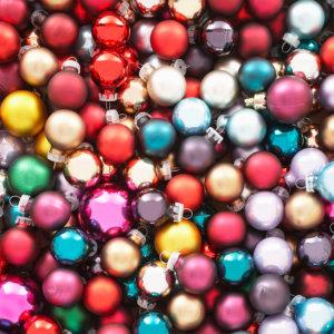 vinylboden weihnachtskugeln PVC Belag Fotoboden