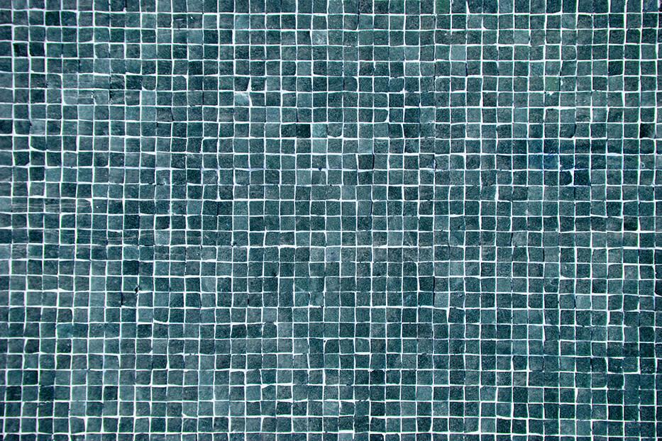 Mosaik Blau Designbelag PVC Belag Vinylboden