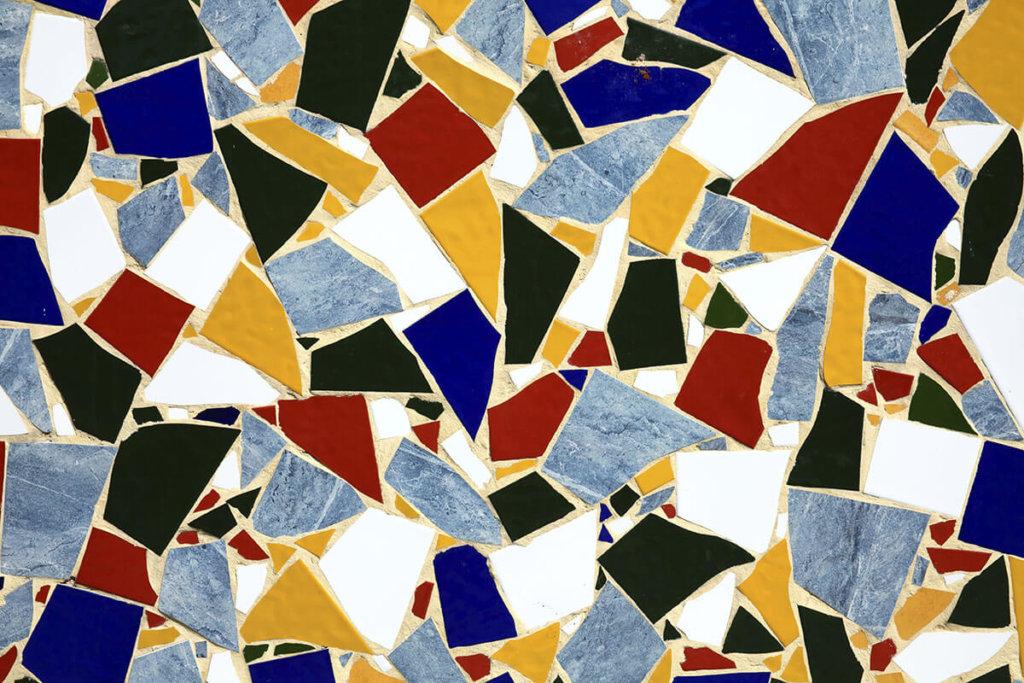 Mosaik bund Vinylboden Fotoboden