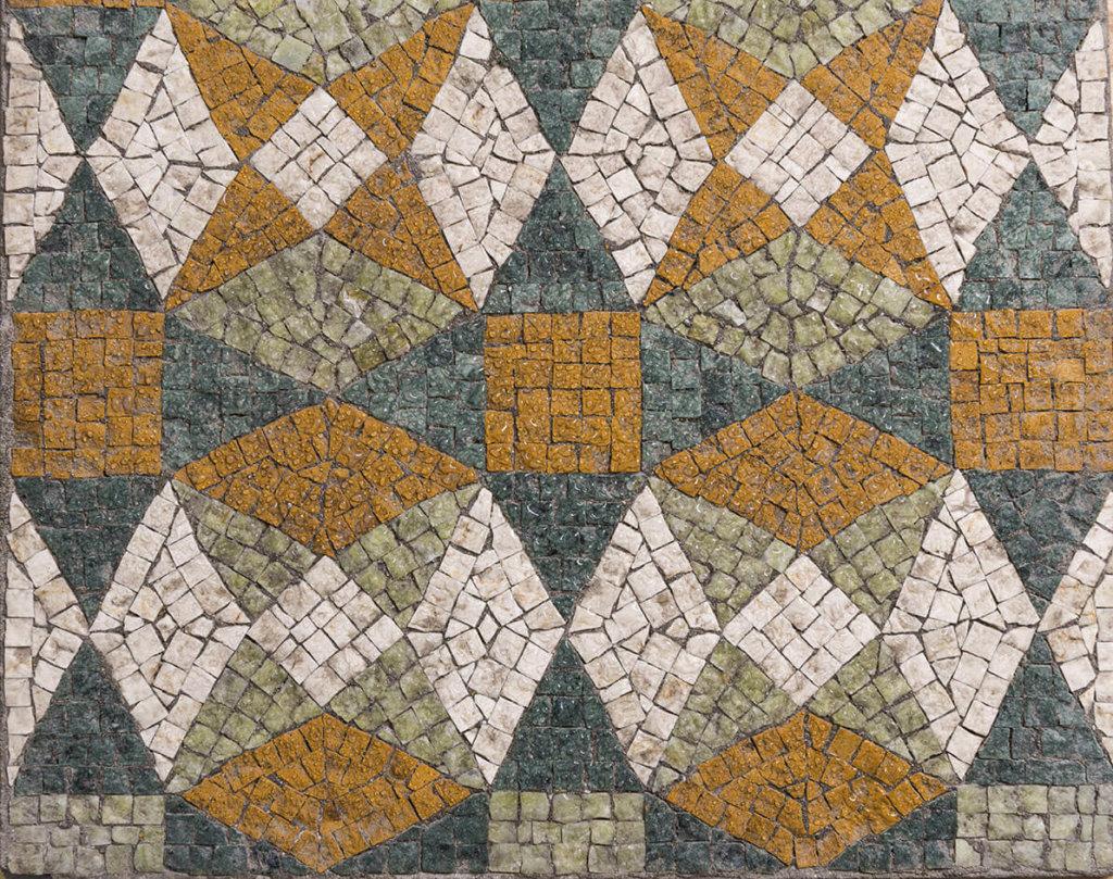 Mosaik Kopfstein nass Vinylboden Fotoboden