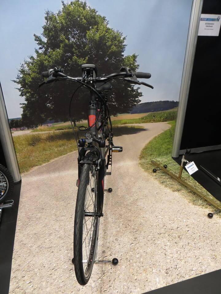 3D Illusion Fahrrad BodenWand