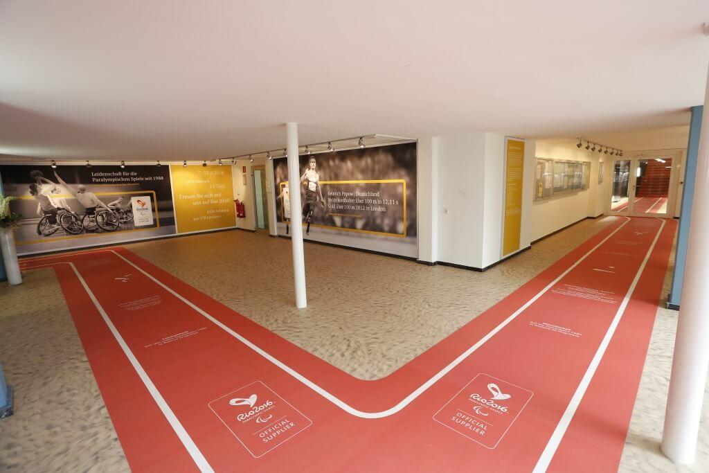 Fußmatte Teppich mit Logo