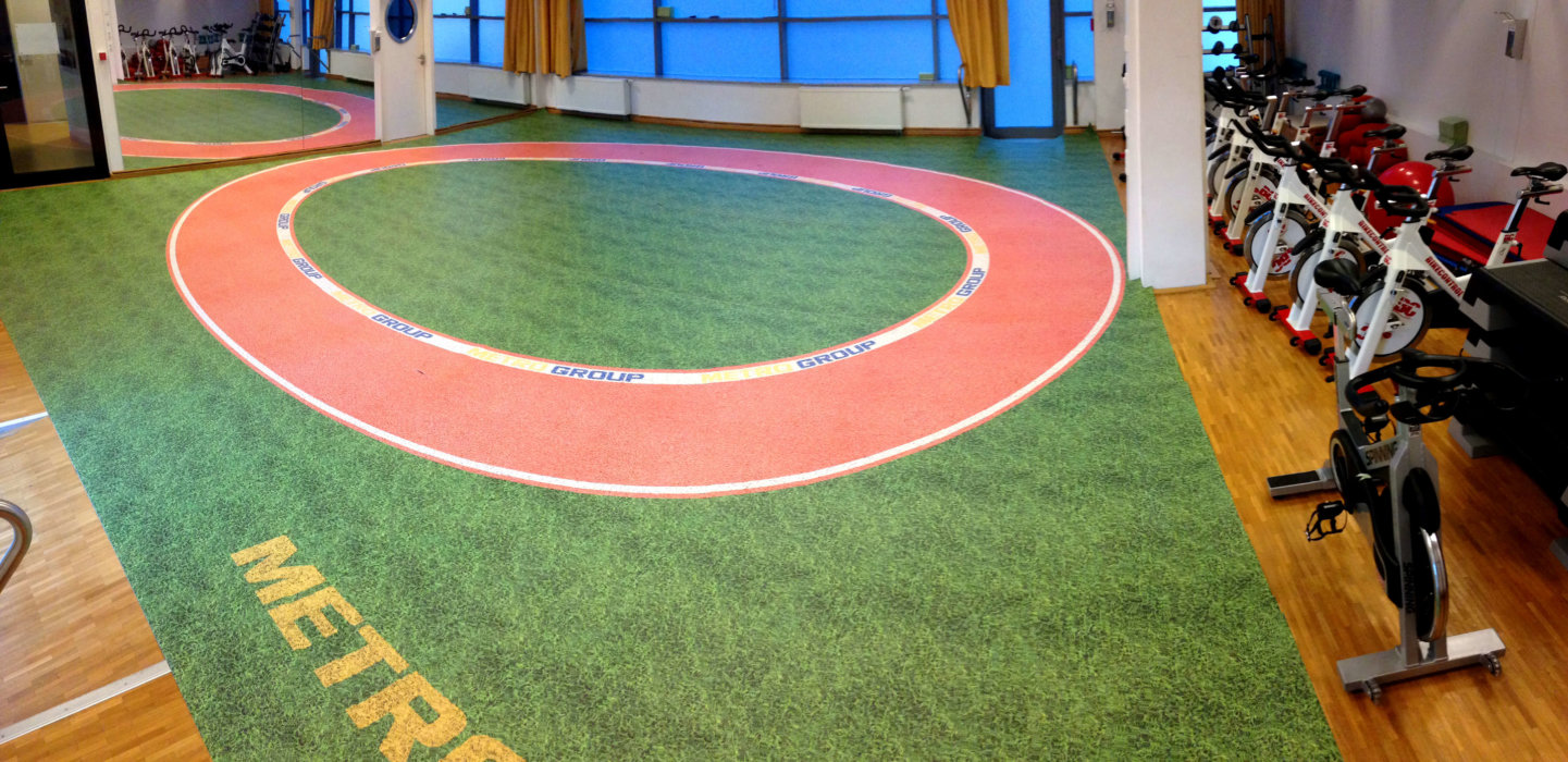 Metro PK Marathon Ladengestaltung Fußboden