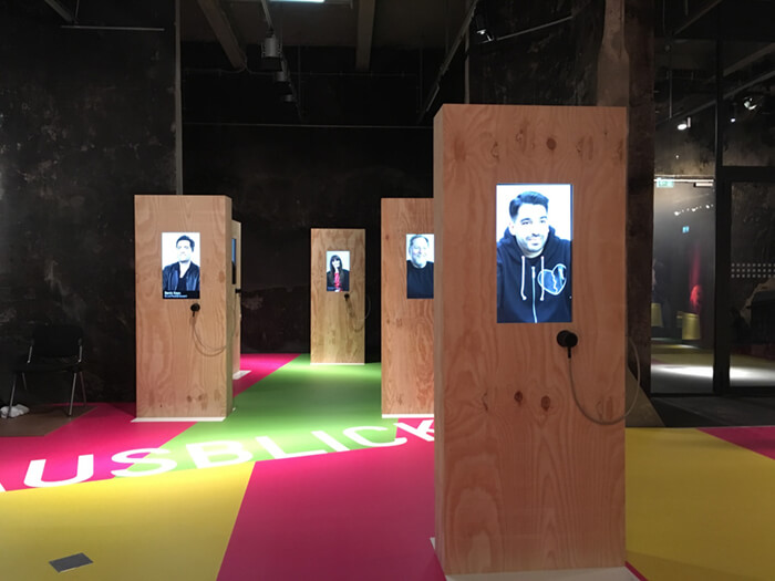 Ausstellungsboden Raumgestaltung