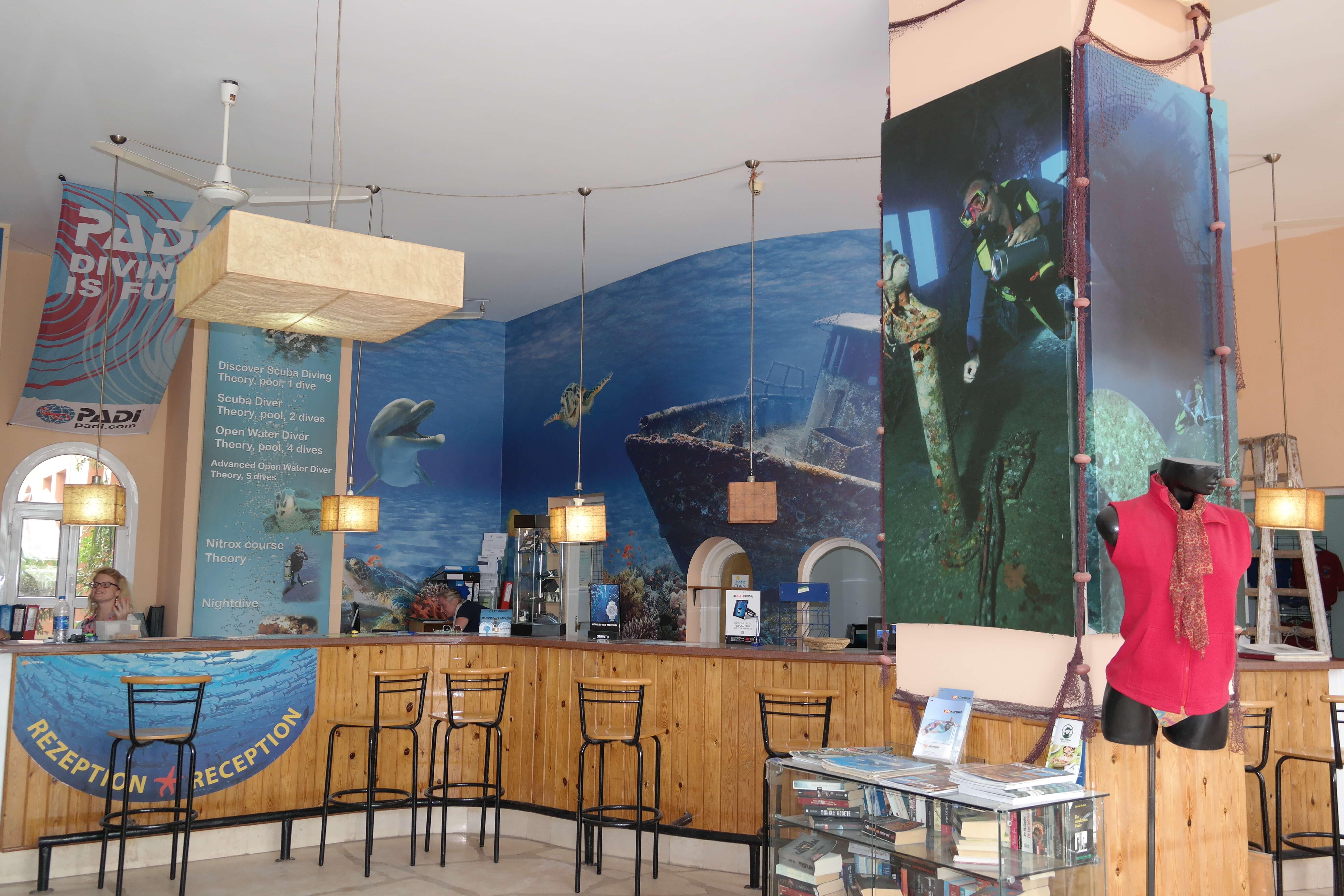 Fotoboden Unterwasserwelt