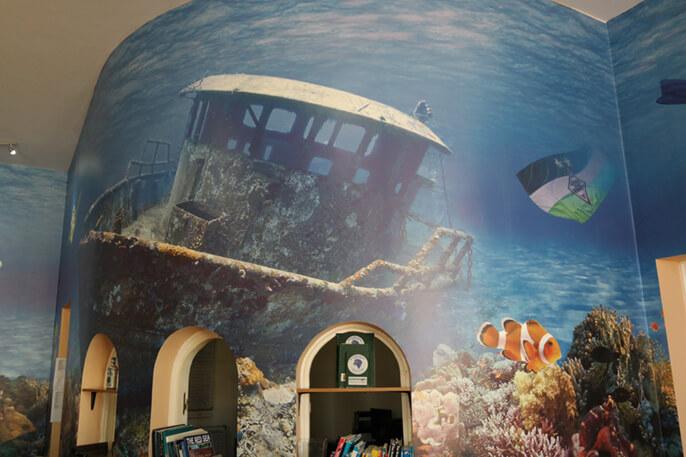 FOTOBODEN™ Unterwasser