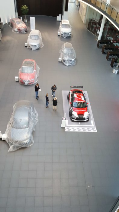 Fotoboden Audi