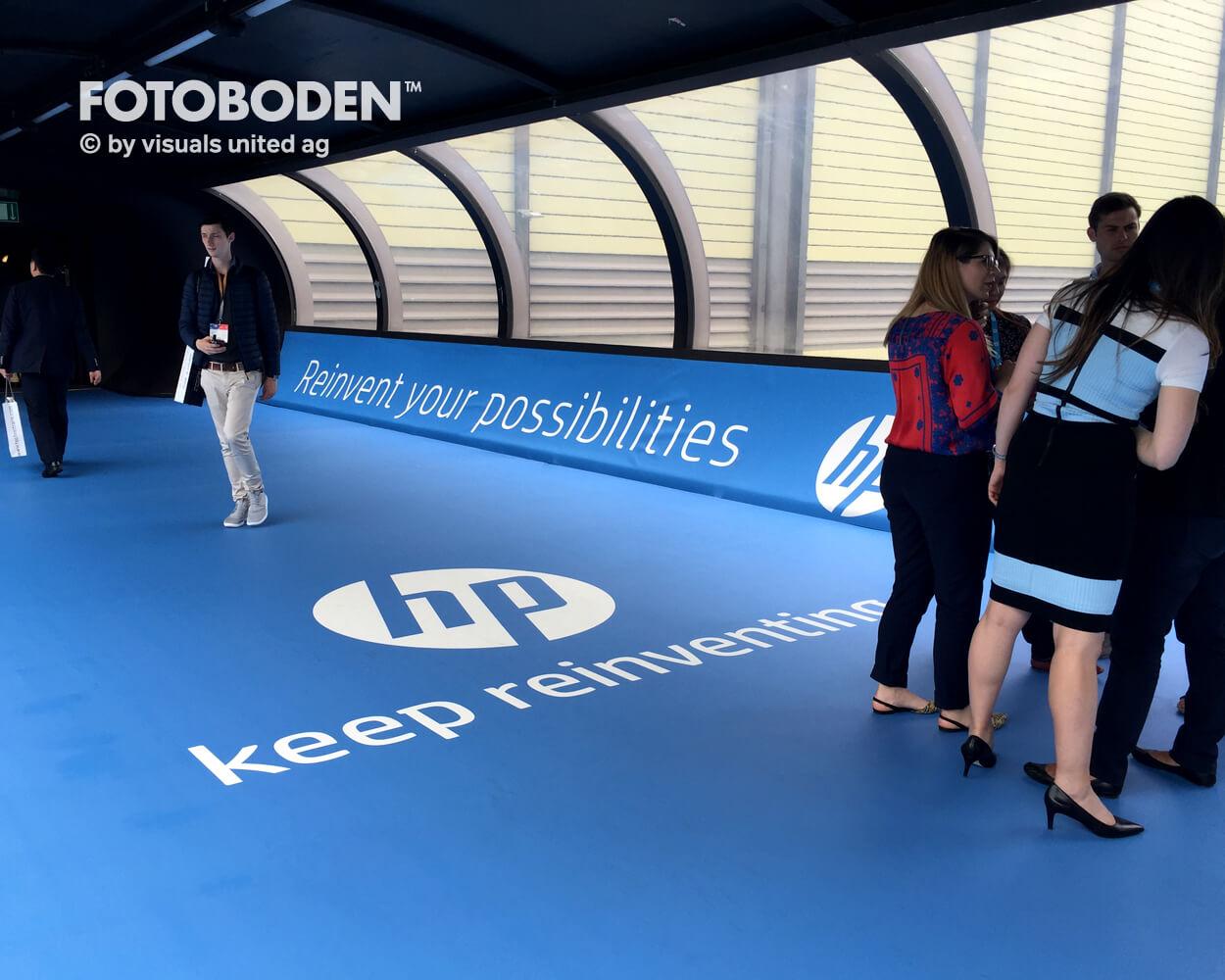 HP Tunnel FOTOBODEN™ Messeboden