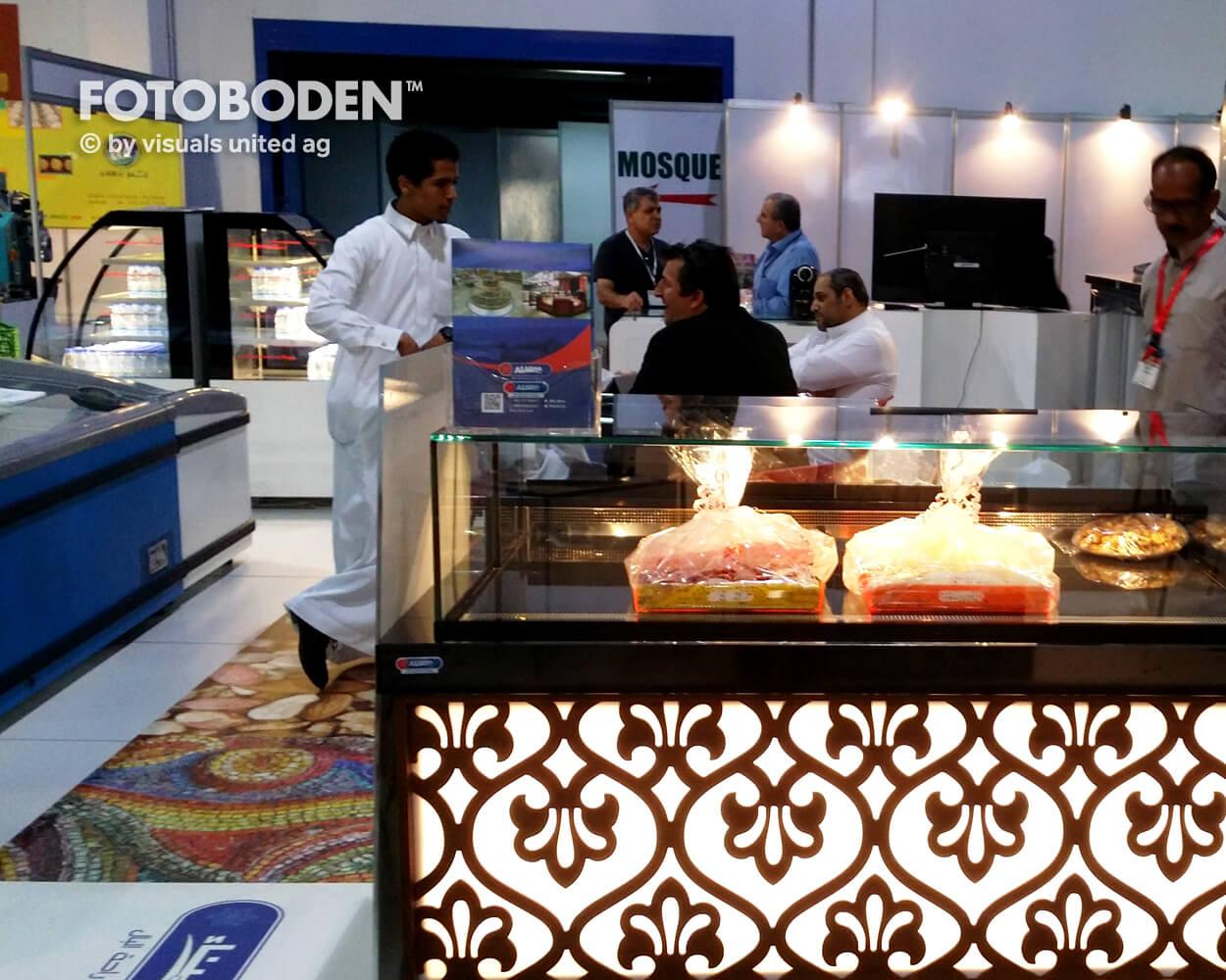 FOTOBODEN™ Fußboden Gastronomie