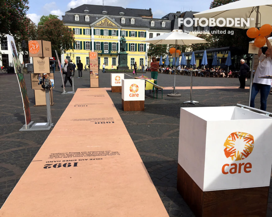 CARE Outdoor Promotion