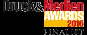 Finalist Bei Den Druck&Medien Awards 2016