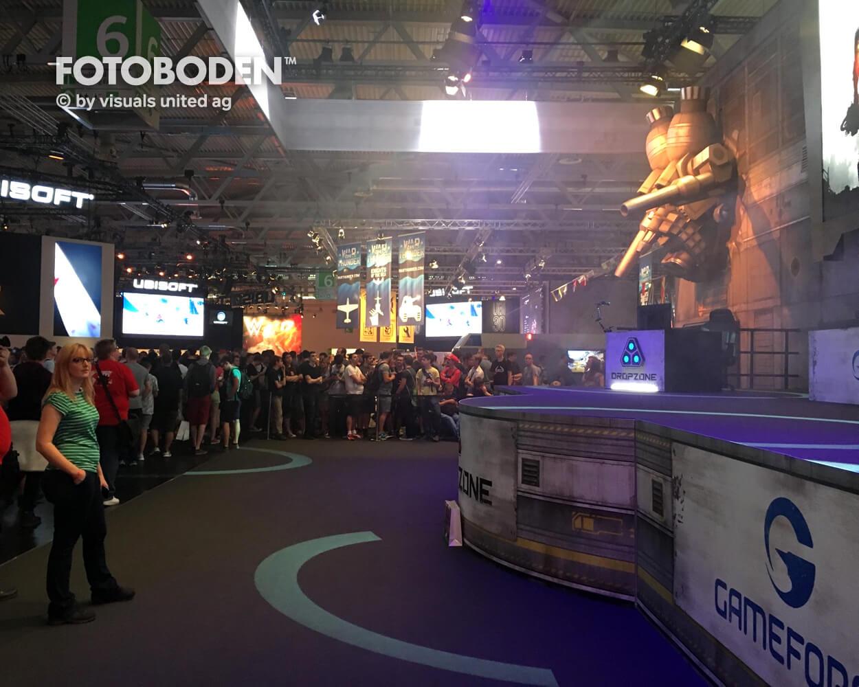 Dropzone Gameforge Stage Fotoboden