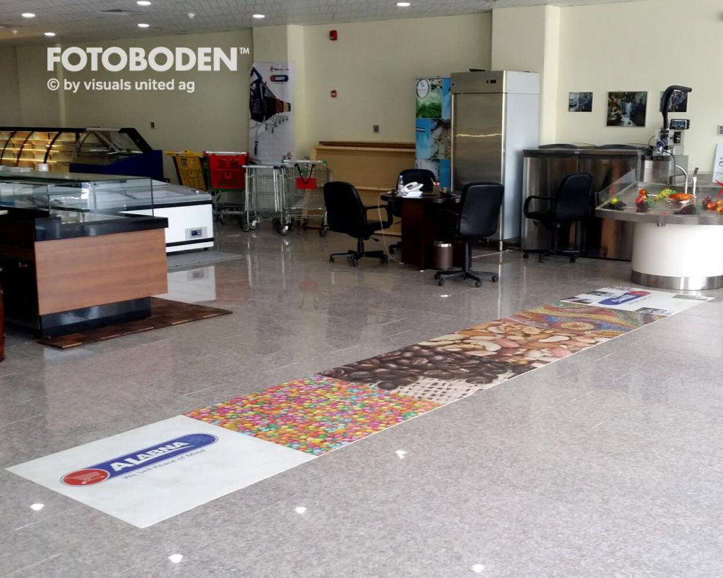 Fotoboden Teppich bedrucken Teppich selbst gestalten