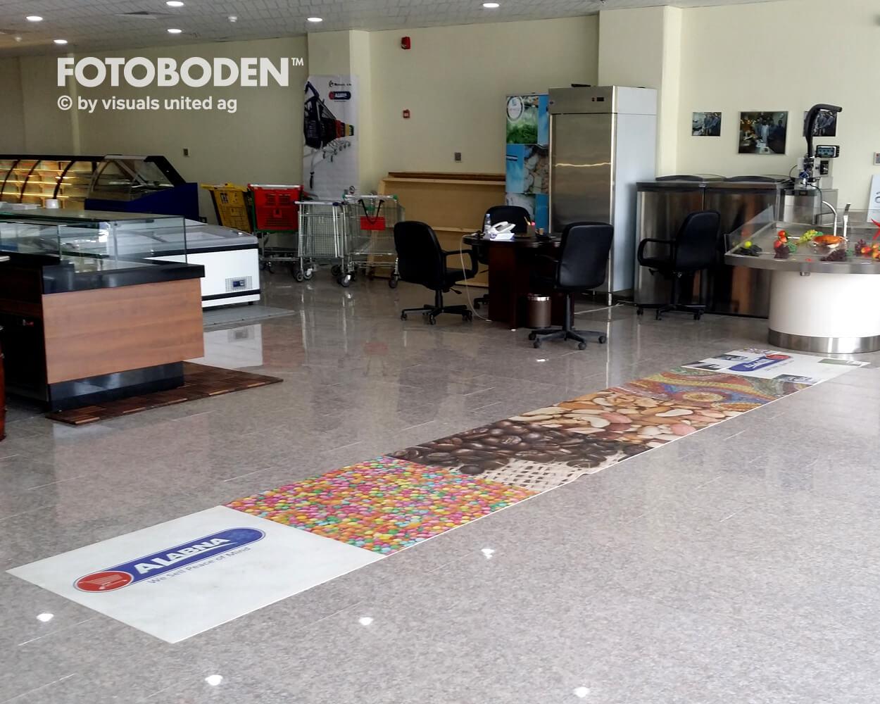 FOTOBODEN™ Teppich bedrucken Teppich selbst gestalten