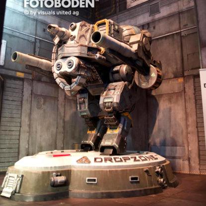 Dropzone Roboter Fotoboden