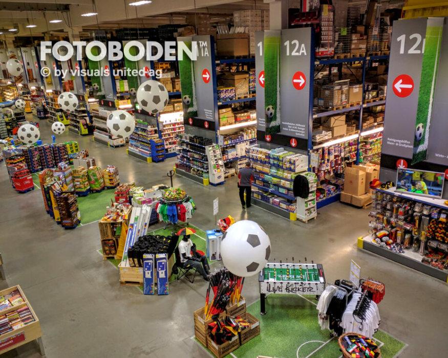 Handelskette Ladenbau Ladengestaltung Fußboden