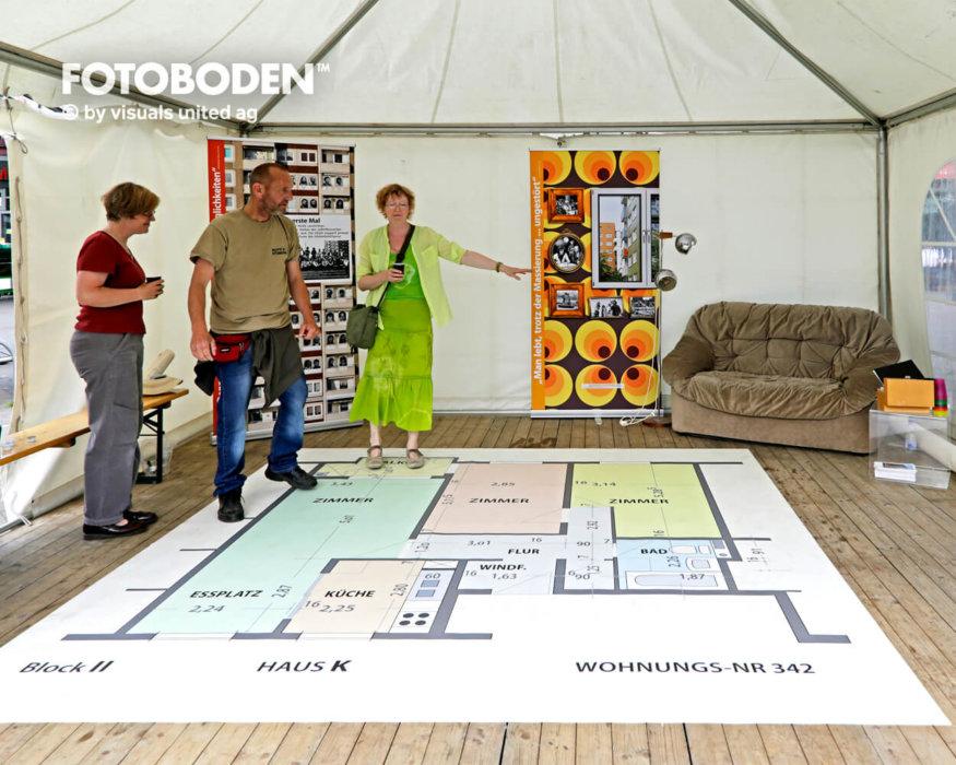 Immobilie FOTOBODEN™ Messeboden