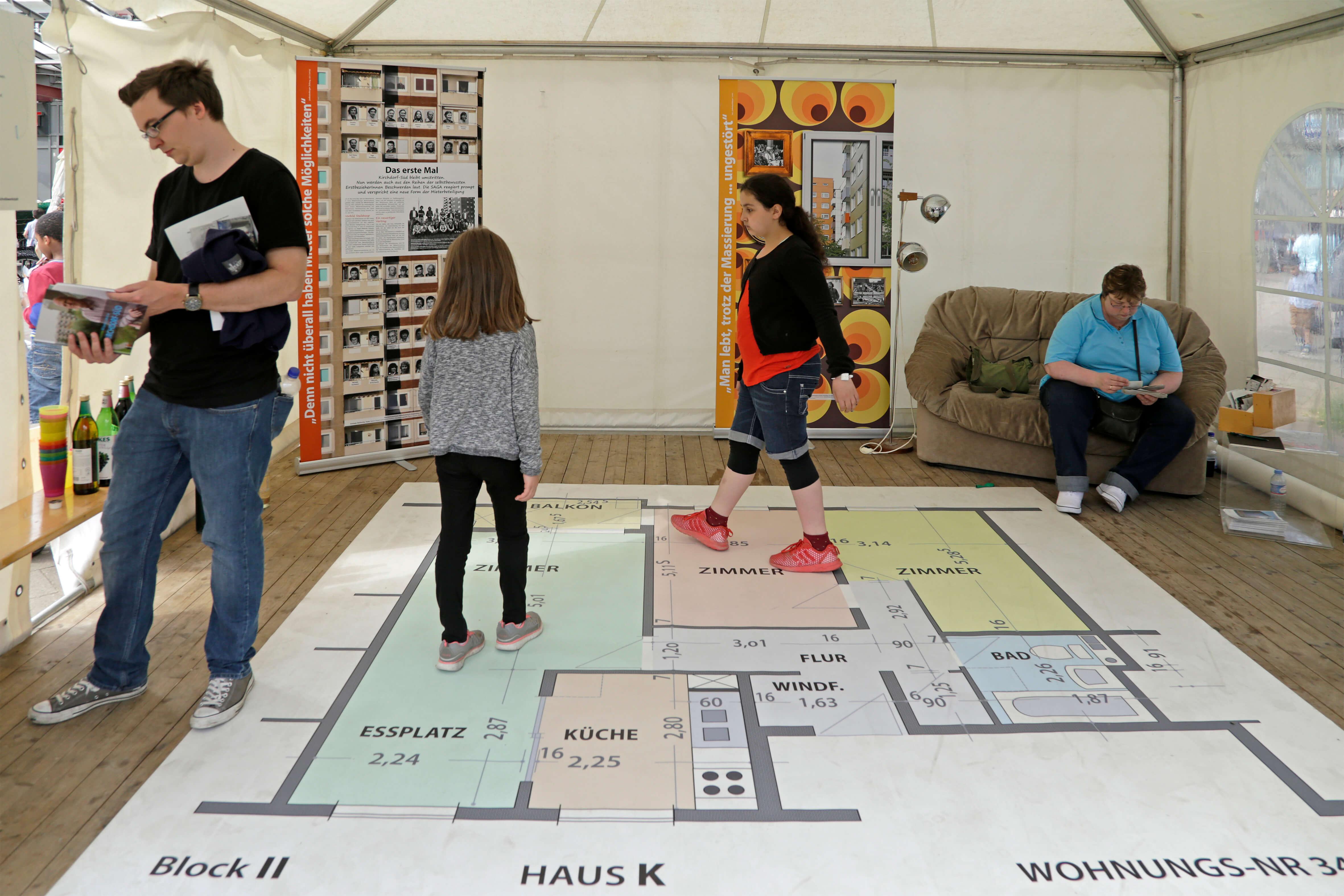 Immobilie Teppich selbst gestalten