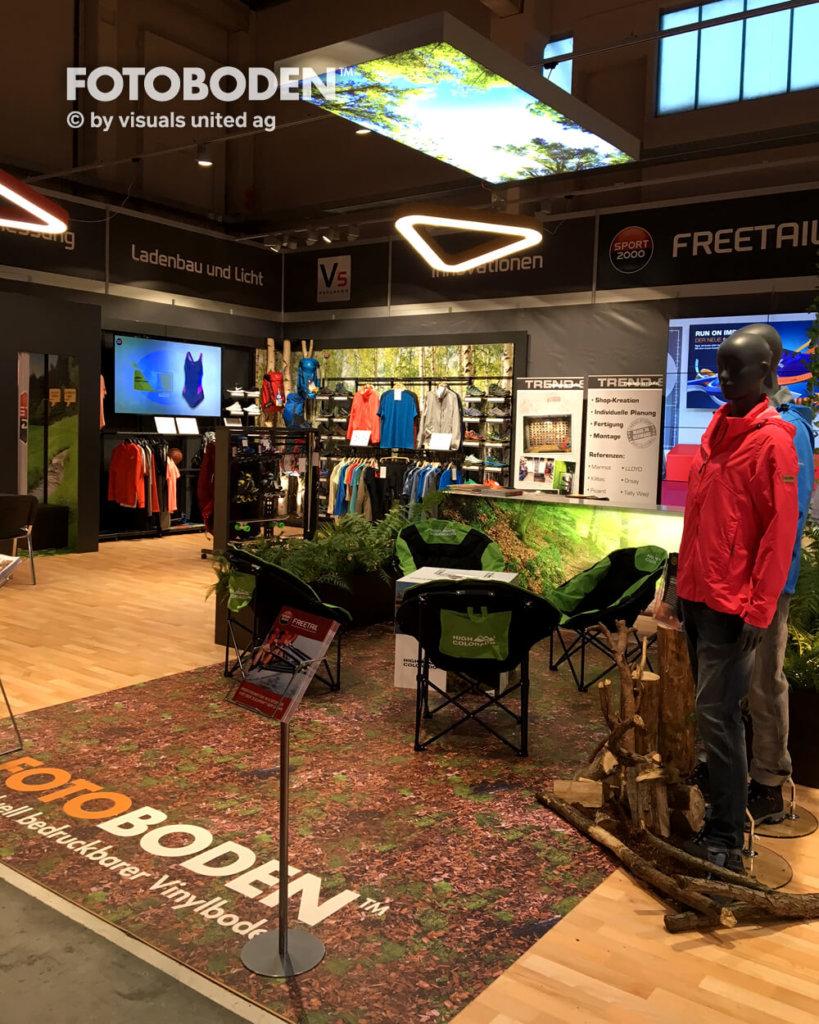 sport2000Fotoboden Messeboden Tradeshow Flooring