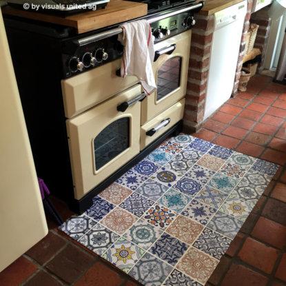 Küche RetroMyFOTOBODEN™ Fotoboden