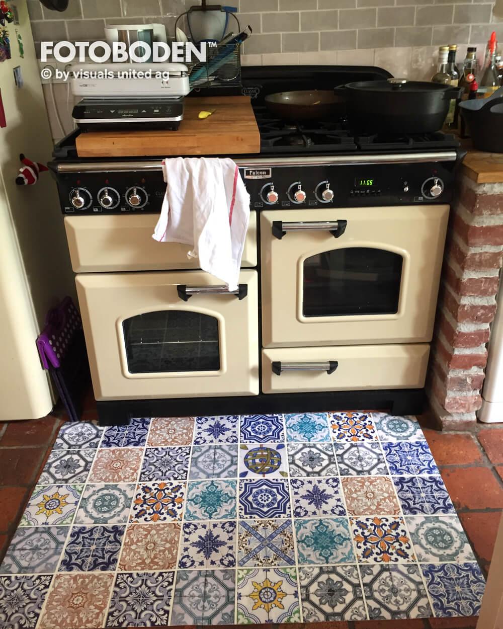 Kuchengestaltung Geht Auch Mit Fotoboden Fotoboden De