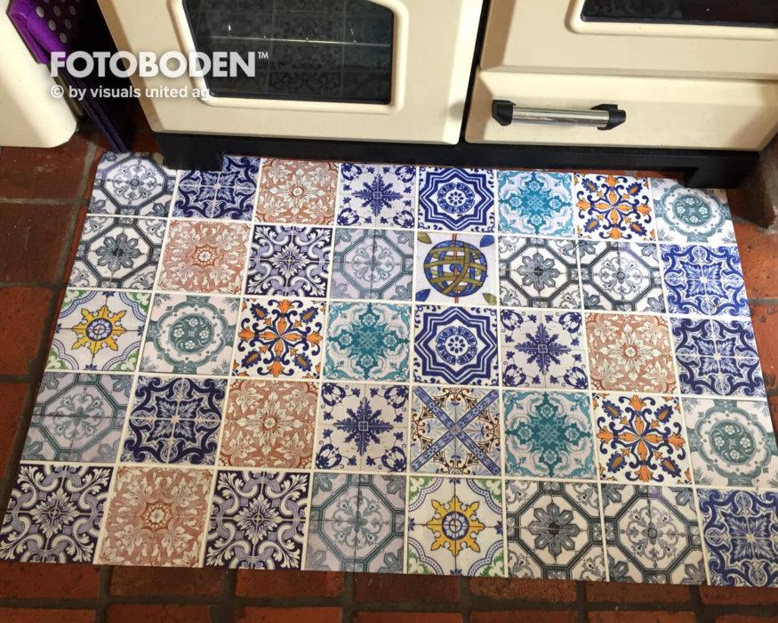 Küchenmatte Retro Myfotoboden