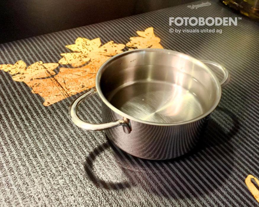 Küchenmatte Kochtopf Myfotoboden