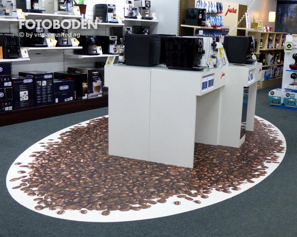 Vinylboden Kaffeebonen Elektromarkt
