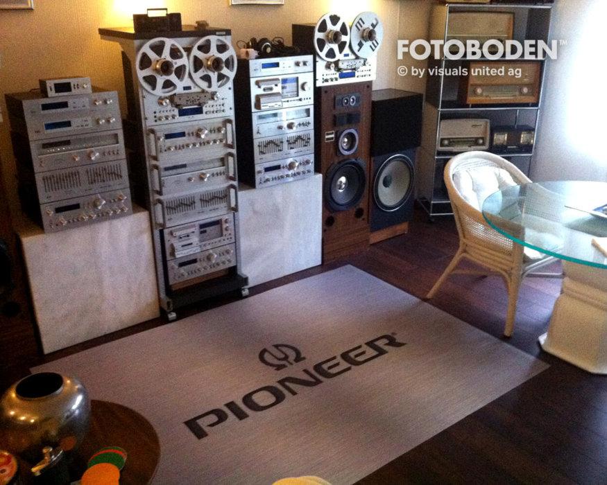 Pioneer Anlage Musik Stahl