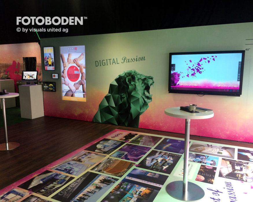 Digital Passion FOTOBODEN™ Messeboden