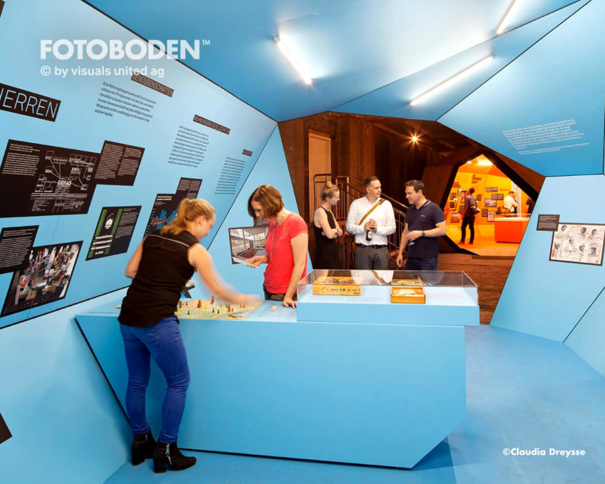 Ausstellung Objektboden Designboden Raumgestaltung