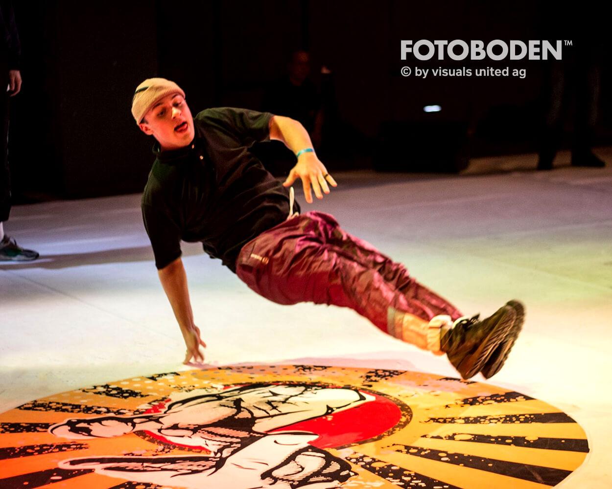 Tanzevent Bühnenbau