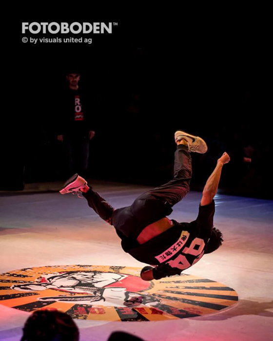Tanzveranstaltung Bühnenbau