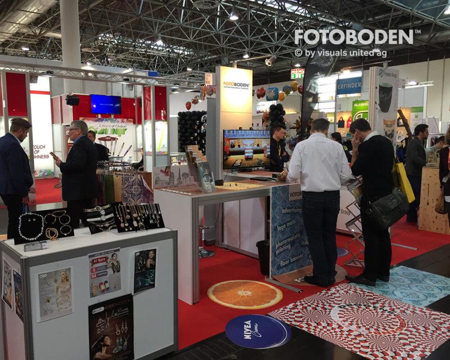 PSI FOTOBODEN™ Messeboden Tradeshow