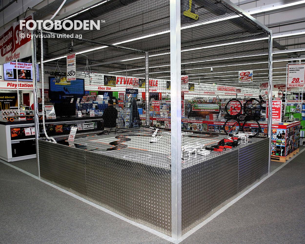 Ladengestaltung Verkaufsfläche Bodengestaltung
