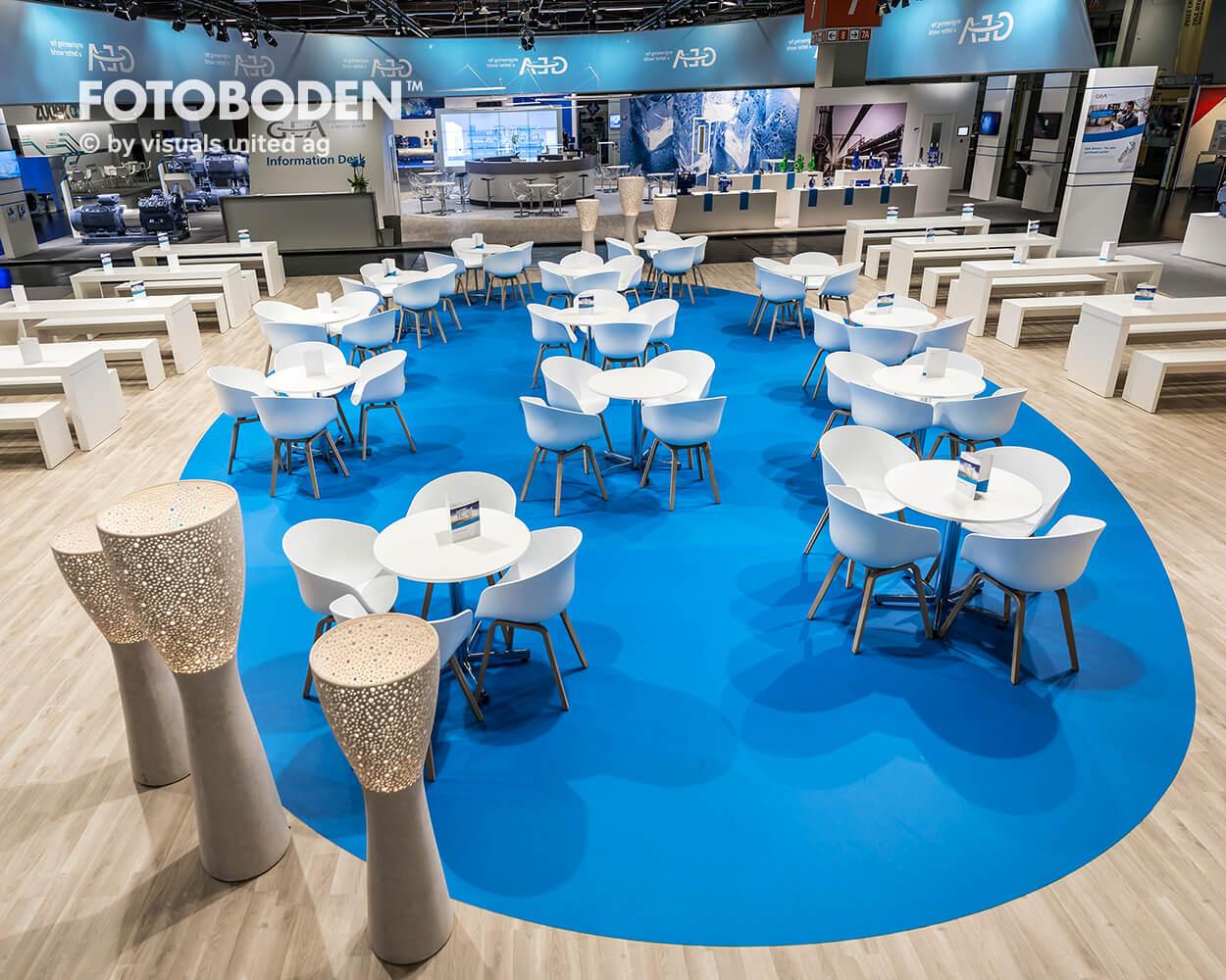 FOTOBODEN™ Messeboden Einkaufszentrum Gastronomie