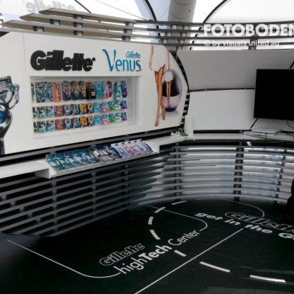 Gillette Ladenbau Ladengestaltung Fußboden