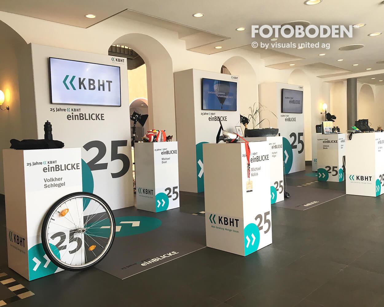 KBHT FOTOBODEN™ Messeboden Tradeshow