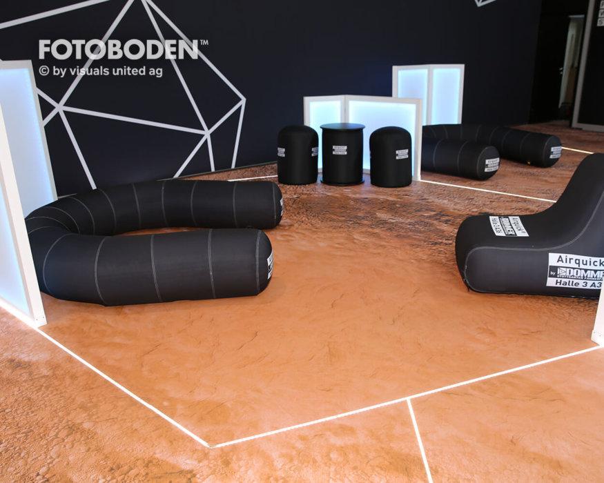 FOTOBODEN™ Objektboden Designboden Raumgestaltung