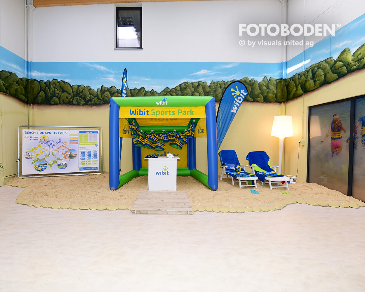 Wibit FOTOBODEN™ Indoor Kinderspielplatz