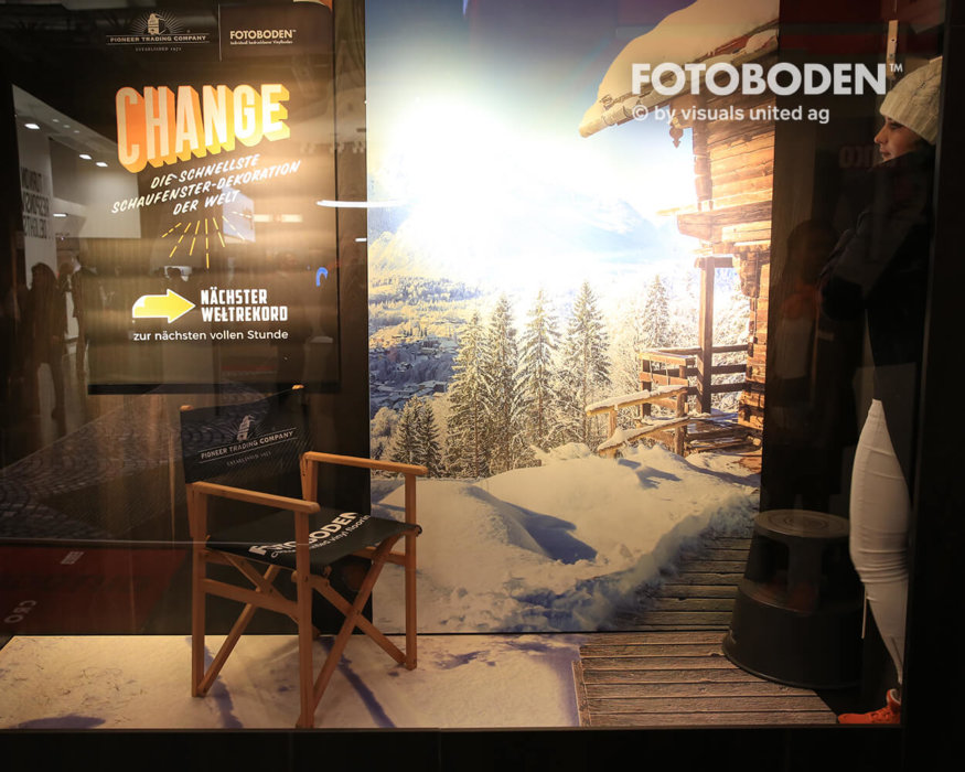 FOTOBODEN™ Messeboden Objektdesign 3D Boden