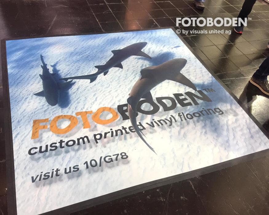 Floorminder FOTOBODEN™ Messeboden 3d Boden